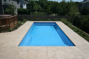 Signature Pools - 33' x 14' Fiberglass Pool in Plainfield, IL