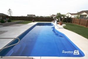 Moroccan 38 inground fiberglass pool