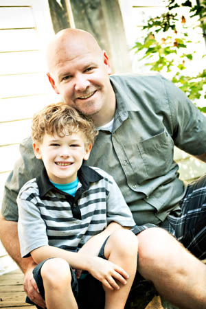 Todd and Lincoln Emmerson - 2012