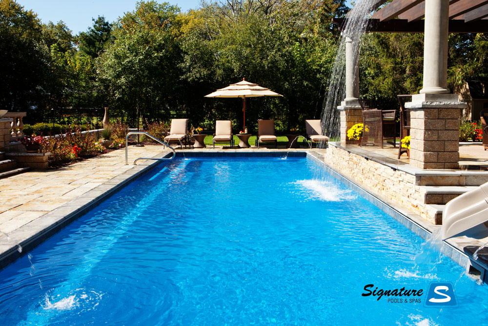 Master of design award winning pool from 2011 signature for Pool design awards