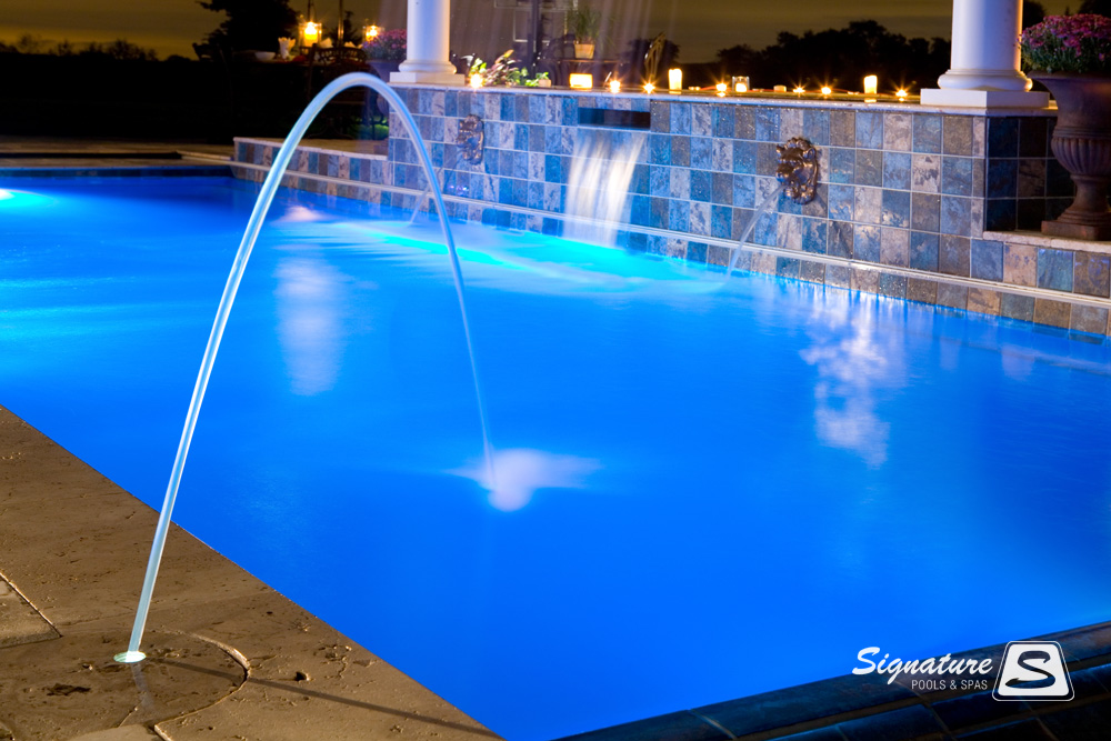 Award Winning Fiberglass Swimming Pool Picture Gallery 2009 Signature Fiberglass Pools Chicago