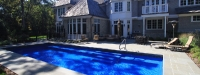 Grand Elegance (40' x 16') in Lake Forest, IL  (Australian Blue)