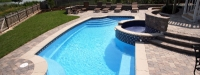 Fiberglass Pool (30' x 14') in Oswego, IL