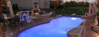 Fiberglass Pool (40' x 16') in Mokena, IL