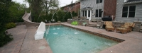 Fiberglass Pool (40' x 16') in Clarendon Hills, IL