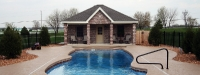 Fiberglass Pool (40' x 16') in Yorkville, IL