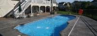 Fiberglass Pool (35' x 16') in Palatine, IL