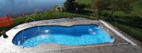 Fiberglass Pool (35' x 16') in Palatine, IL