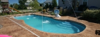 Fiberglass Pool (35' x 16') in Geneva, IL