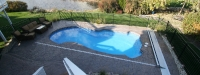Fiberglass Pool (30' x 14') in Palatine, IL