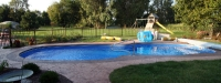 Fiberglass Pool (41' x 16') in Batavia, IL