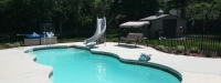 Fiberglass Pool (34' x 15') in Oak Brook, IL