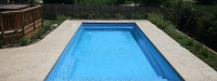 Fiberglass Pool (33' x 14') in Plainfield, IL