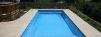 Fiberglass Pool (33' x 14') in Plainfield, IL