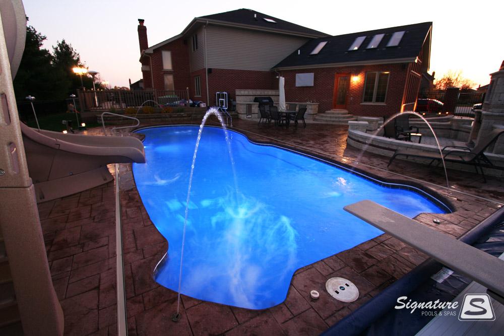 Fiberglass Pool Pictures From Signature Pools Signature