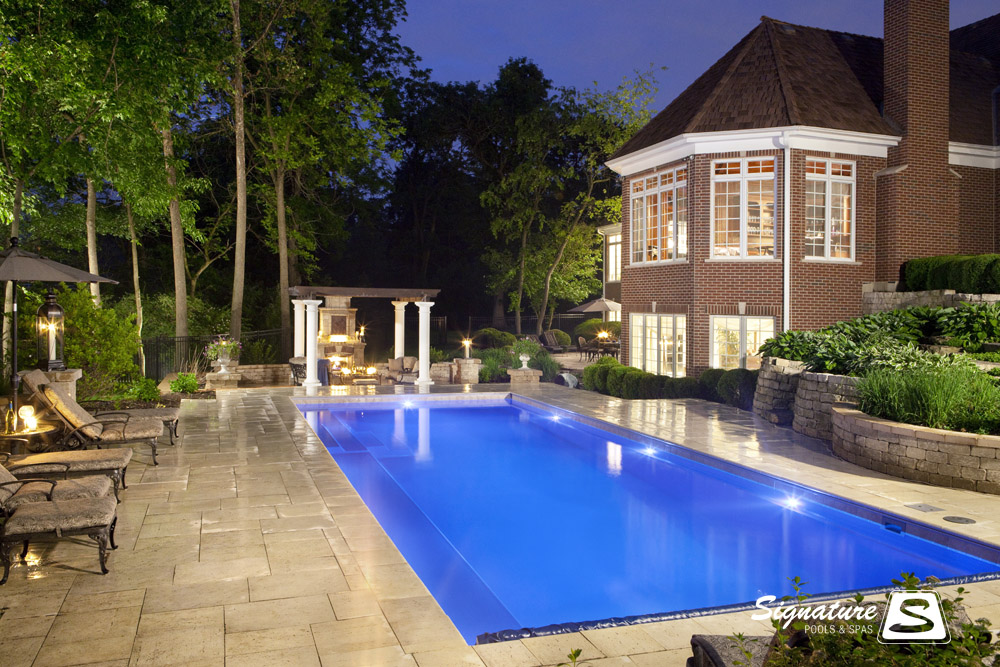 Award Winning Fiberglass Swimming Pool Picture Gallery