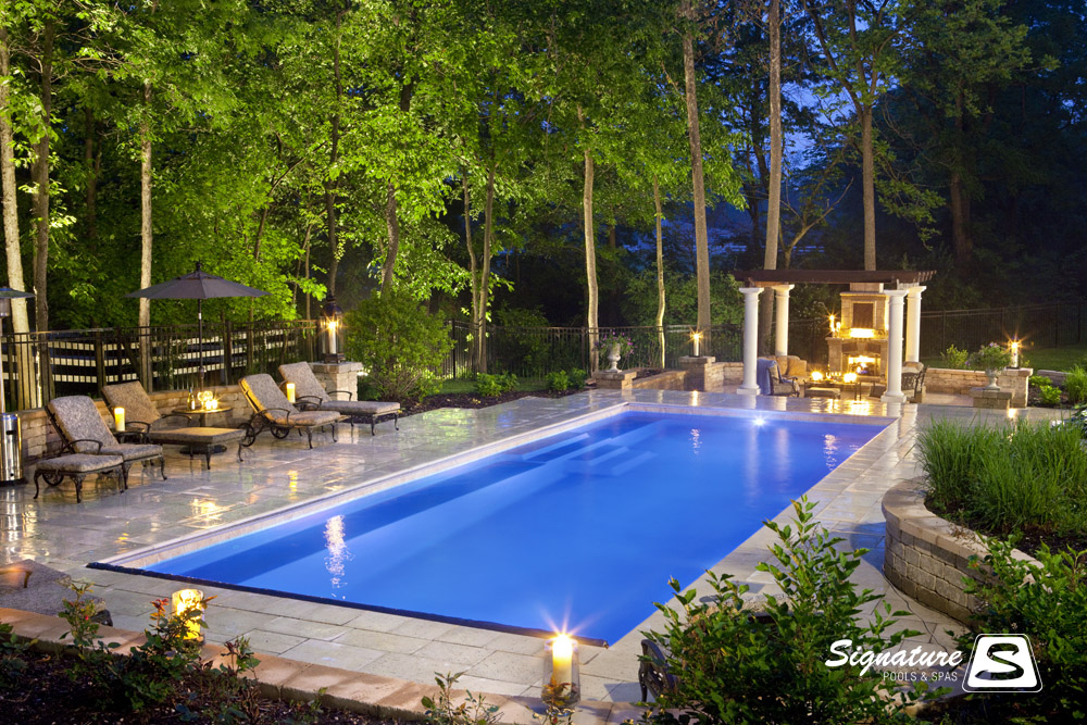 award winning fiberglass swimming pool picture gallery