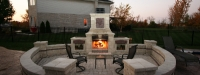 Outdoor Fireplace in Mokena, IL