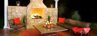 Outdoor Fireplace in Yorkville, IL