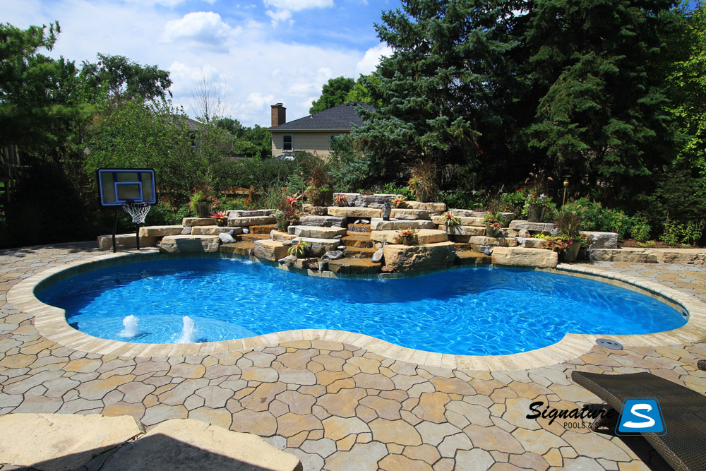 Gemini model pool from trilogy pools signature for Pool pictures