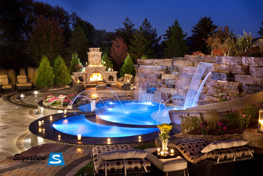 Connect The Colors >> Gemini model pool from Trilogy Pools | Signature Fiberglass Pools Chicago Swimming Pool Builder ...