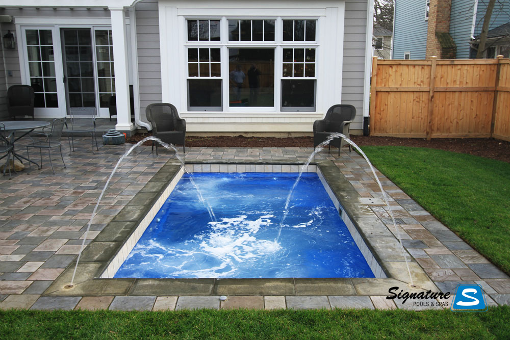 Palladium Plunge Model Pool From Leisure Pools Signature
