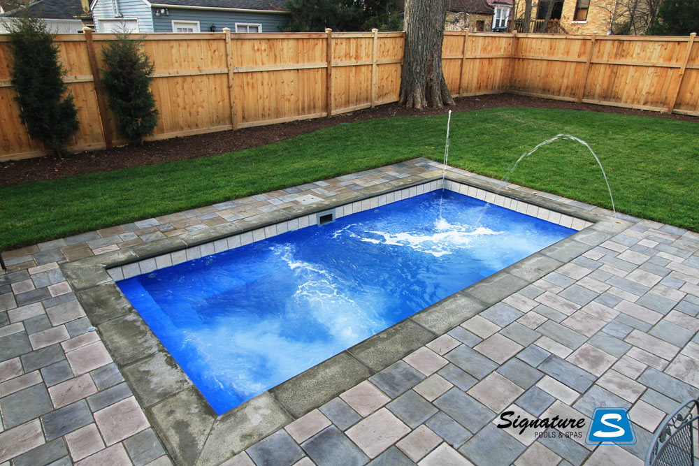 Palladium plunge model pool from leisure pools signature for Plunge pool