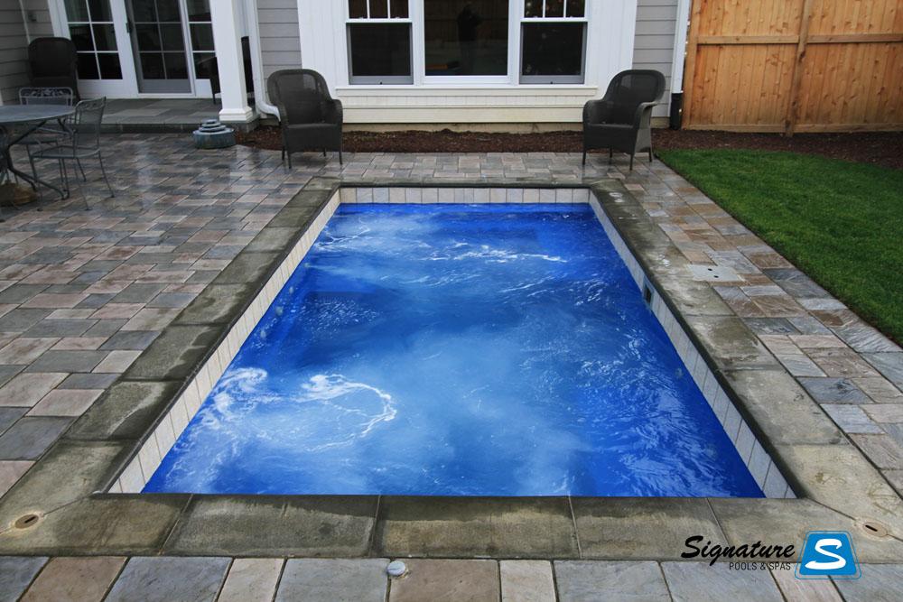 Palladium Plunge Model Pool From Leisure Pools Signature