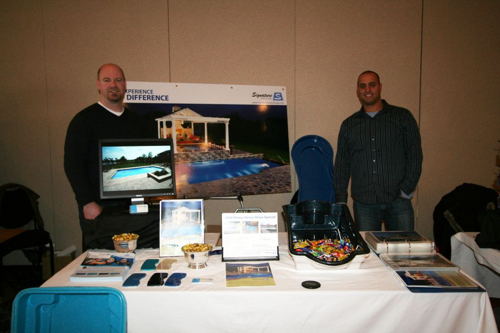 Signature Pools Home Show Booth