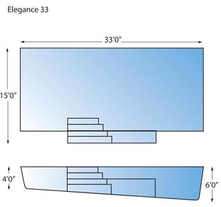 Elegance 33 Line Drawing