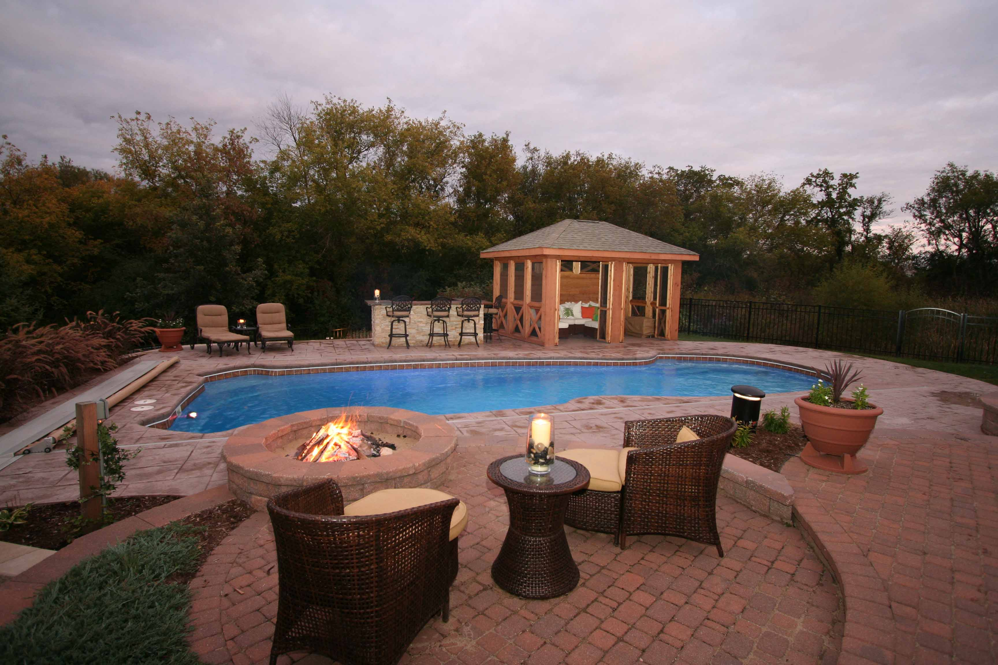 Swimming pool testimonials reviews and reference letters for Pool design regrets