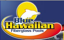 Blue Hawaiian Pools Logo