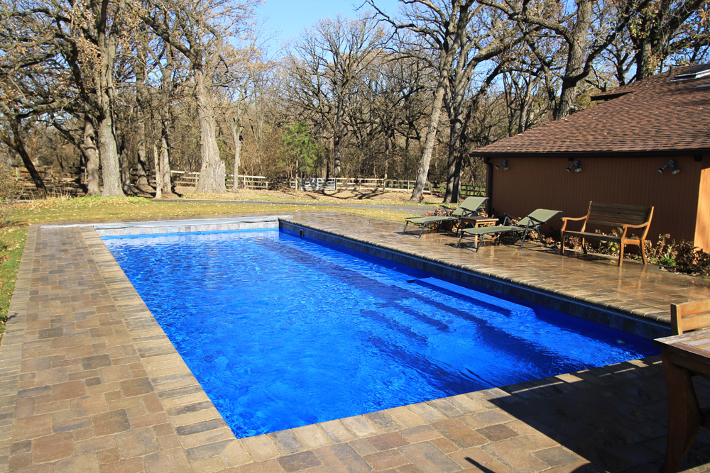 Plano Job Signature Fiberglass Pools Chicago Swimming Pool Builder Illinois