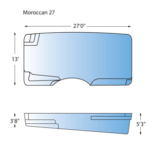 Moroccan 27 Line Drawing