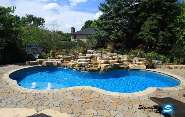 Gemini Model Pool in Lisle Illinois - Trilogy Pools