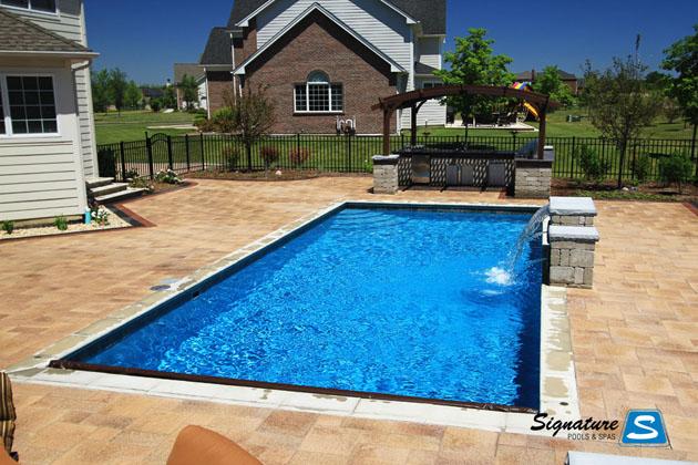 Cassini Pool in South Barrington, IL