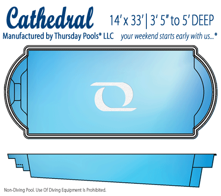 Cathedral Pool by Thursday Pools - Signature Pools